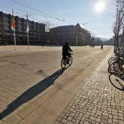 Armin Burger leere Stadt-Corona
