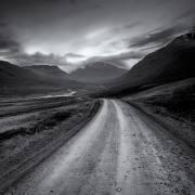 Zufahrt in einen Fjord