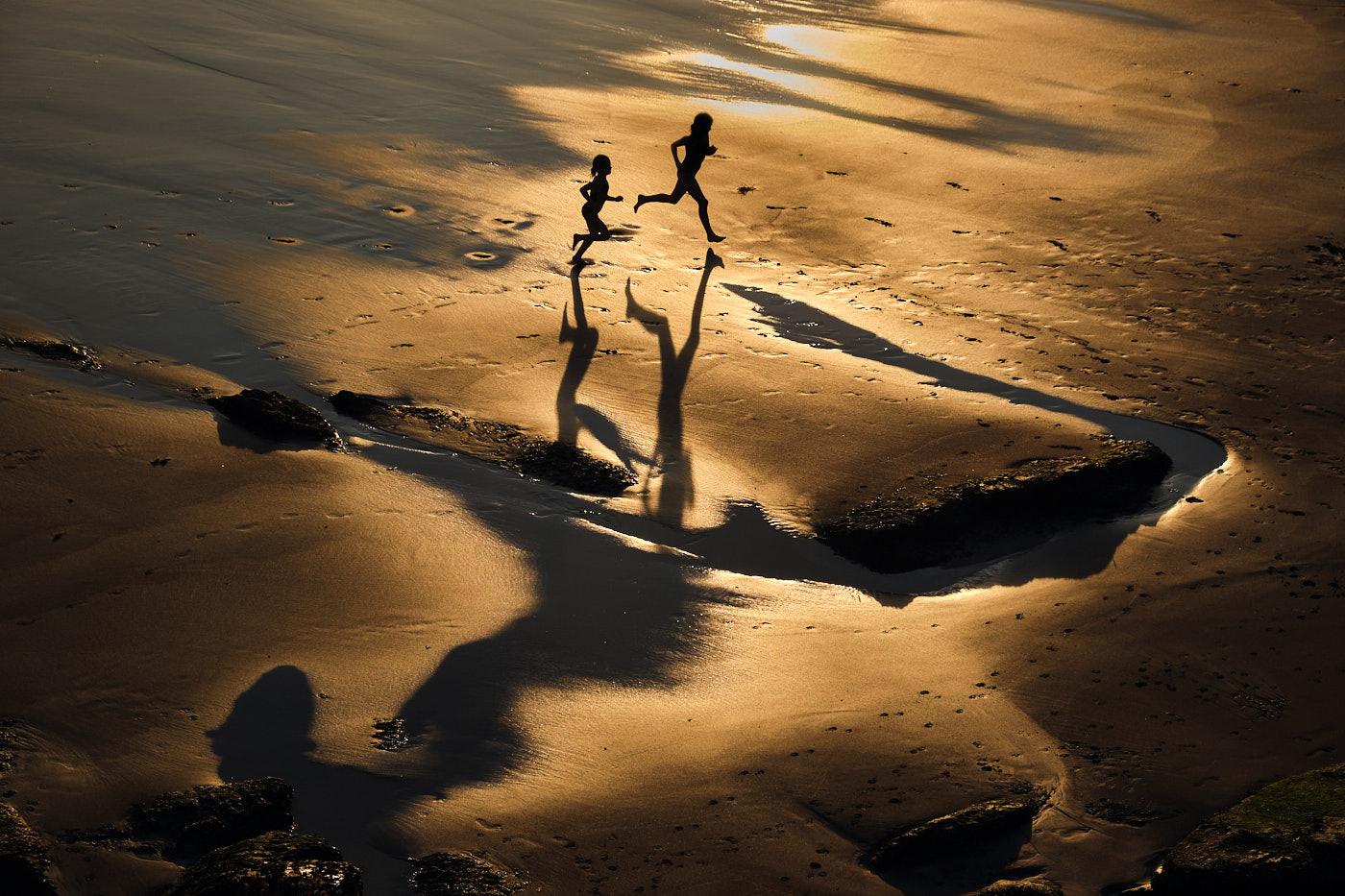 Marco Schweier: Am Strand