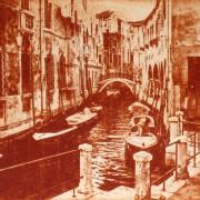 Monika Schäfer: Venedig Intagliotypie